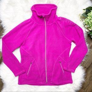 • Calvin Klein Performance Pink Jacket Full Zip •